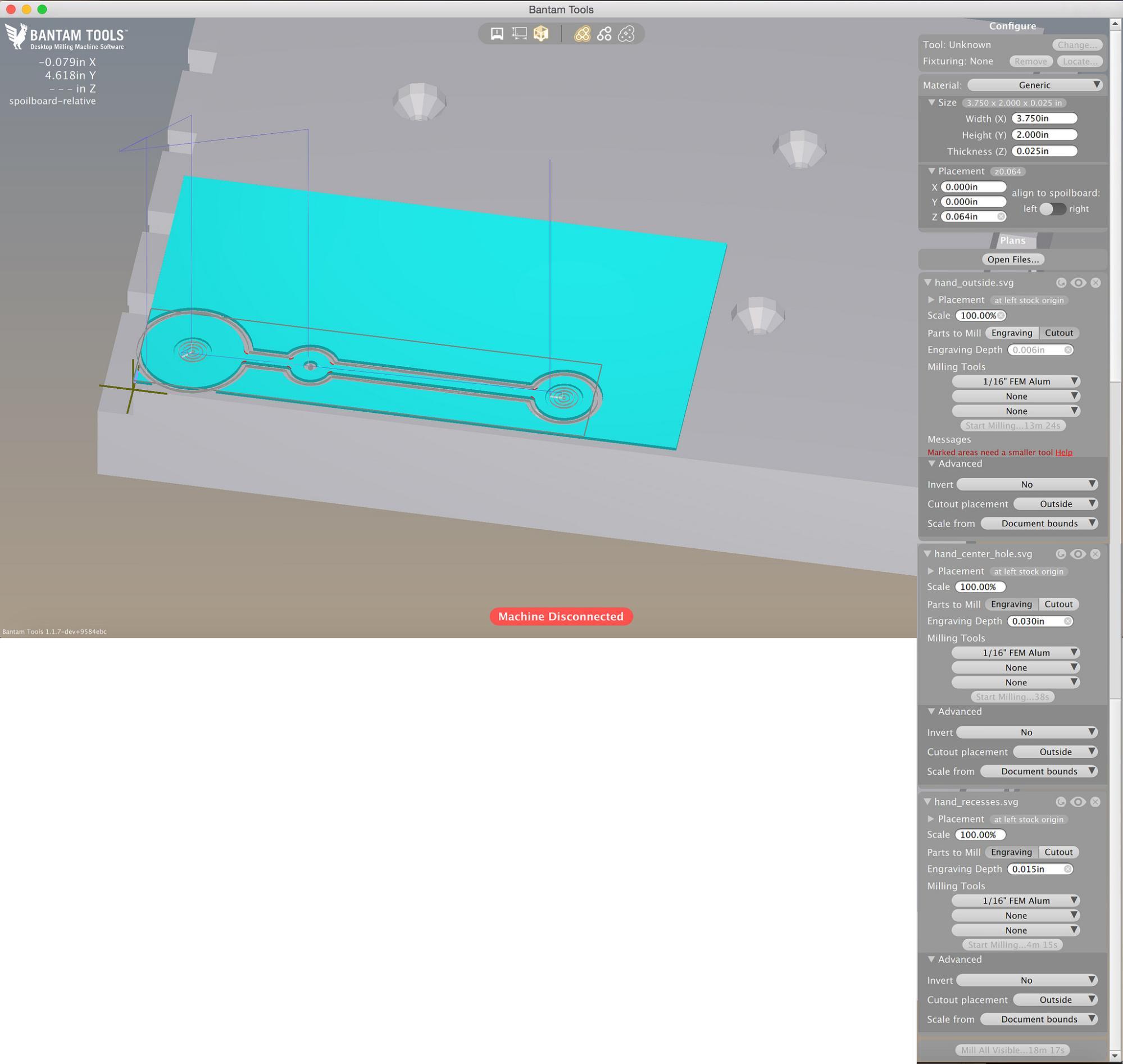 kinetic magnet clock \u2013 bantam tools