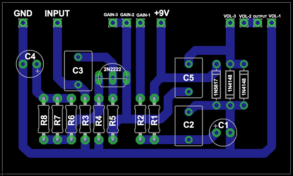 Overdrive Guitar Effects Pedal – Bantam Tools