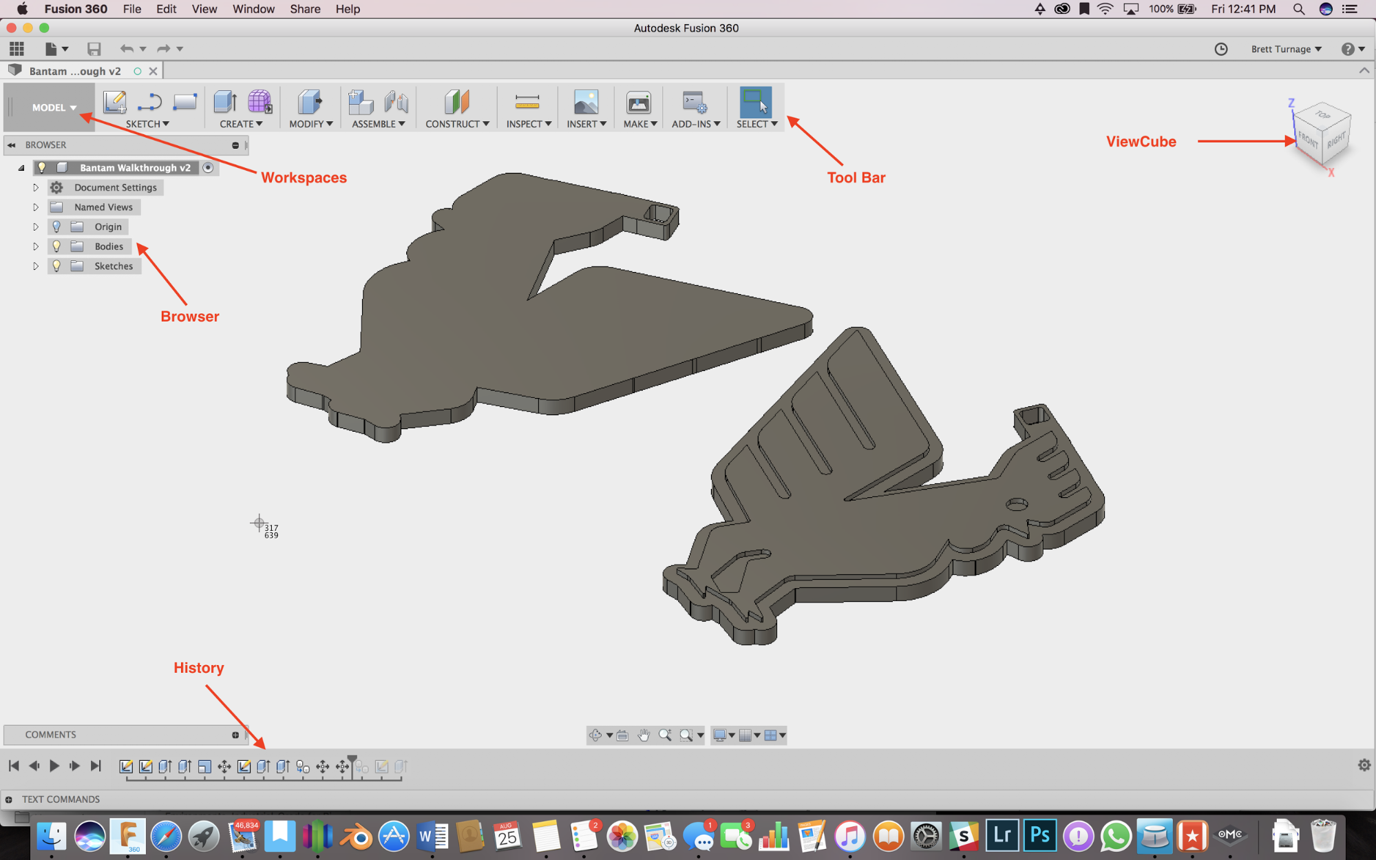 Making a Bantam Tools Keychain in Fusion 360, Part 1