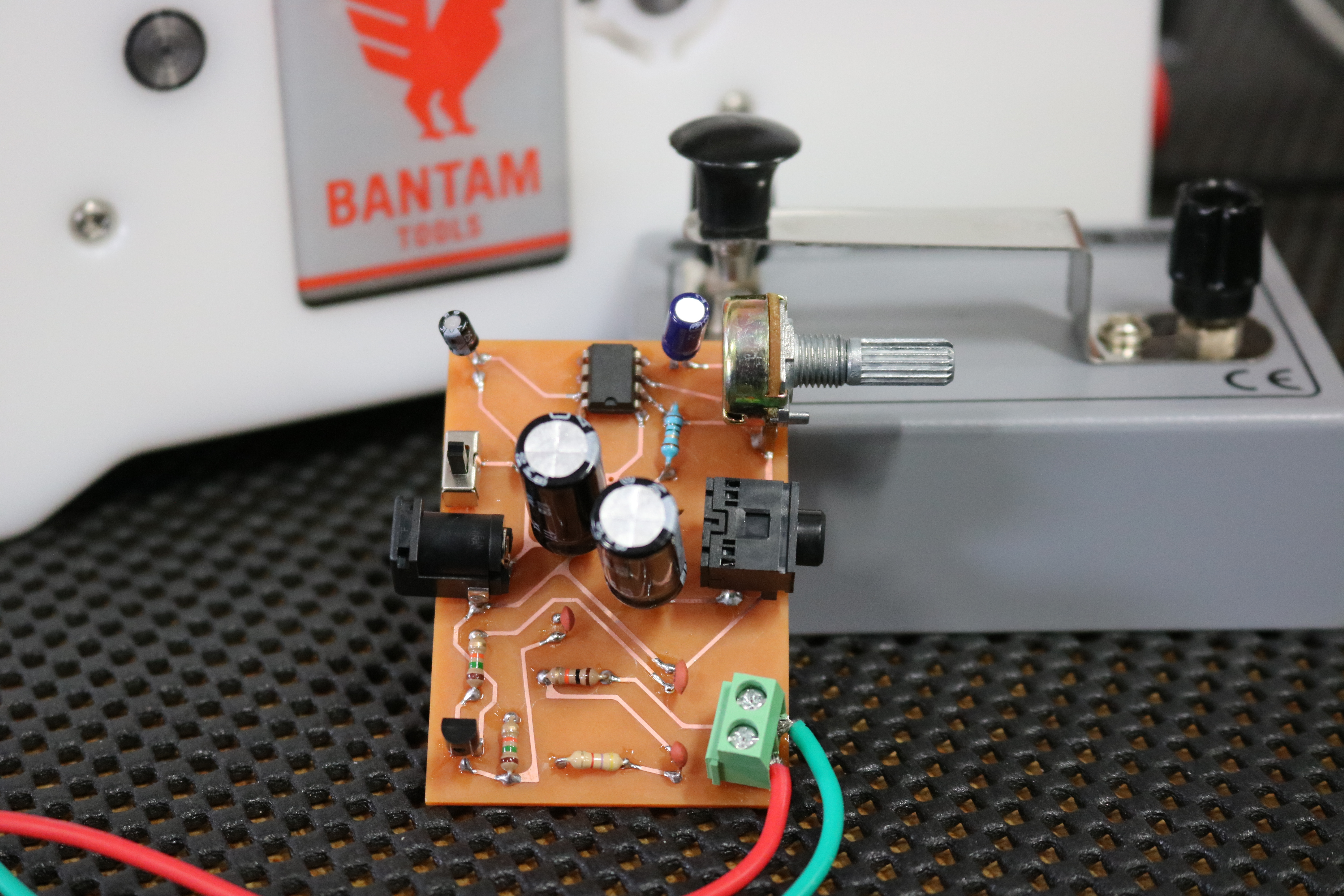 Morse Code Practice Oscillator Bantam Tools Pcb 101 How To Build A Circuit Board We Start By Milling Out Double Sided On The Desktop Machine Then Solder Series Of Components And Finally Test Our