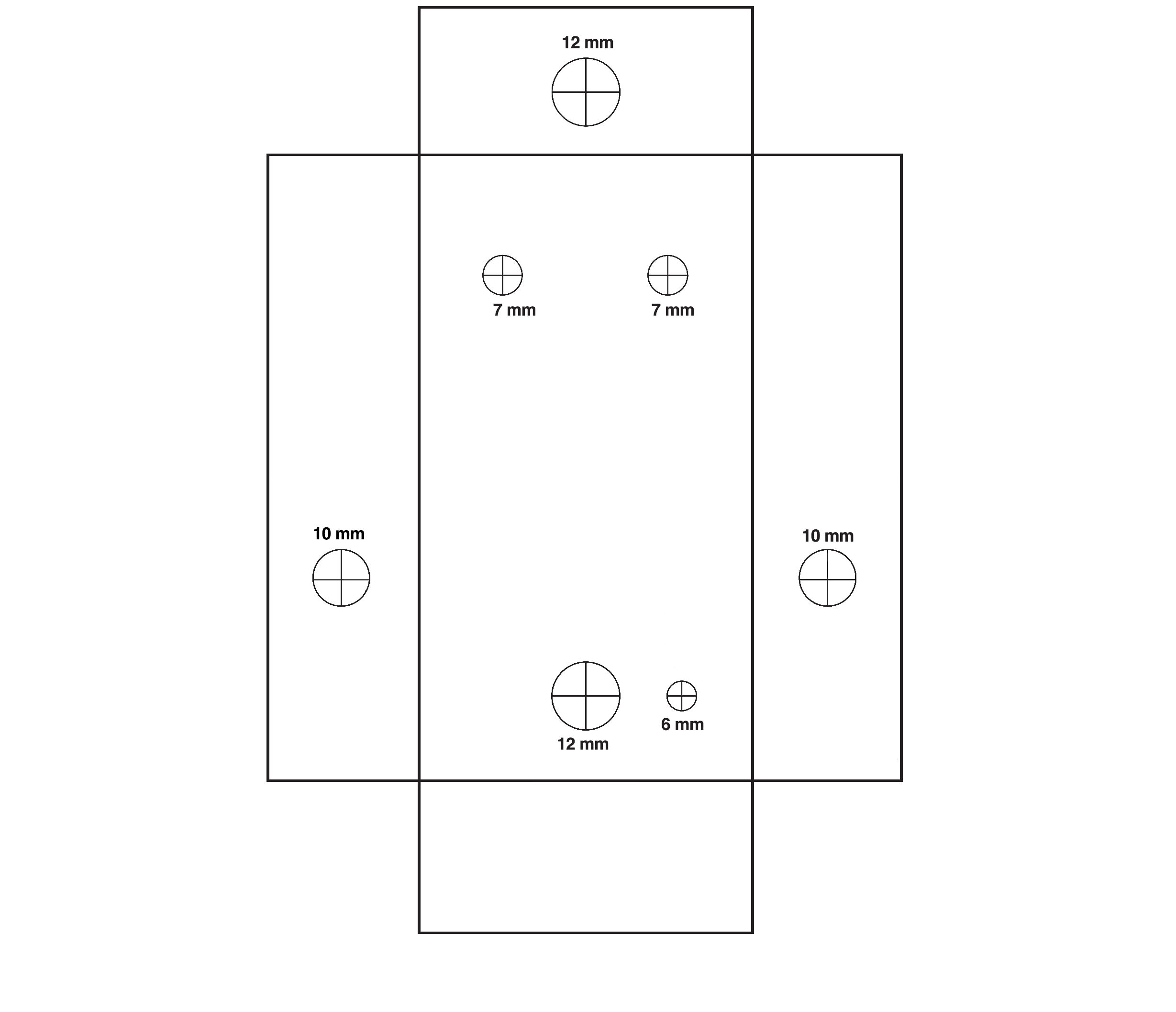 Overdrive Guitar Effects Pedal Bantam Tools 3pdt Wiring Diagram Start By Printing Out The 1590b Enclosure Template
